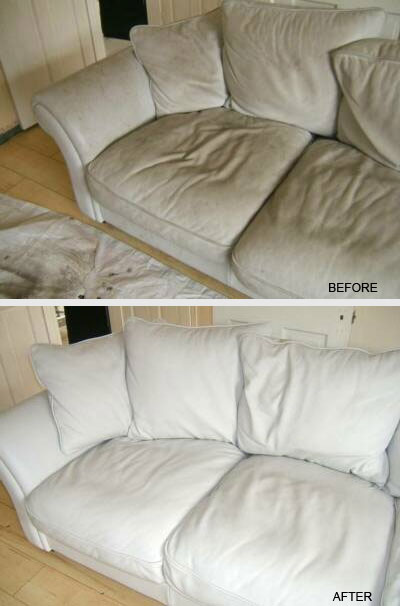 Sofa upholstery cleaning in Guelph